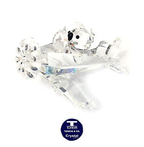 "[NEW] ""Koala Pilot"" Austrian Crystal Figurine"