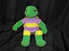 Franklin The Turtle Soccer Talking Plush Stuffed 1986 Nelvana KidPower Book DVD