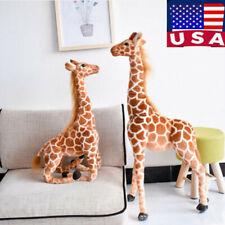 "Big Plush Giraffe Almost 3.2 Foot Tall Giant Large Stuffed Animal kids gift 40"""