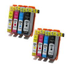 8x Ink Cartridges Compatible For HP 564 564XL Photosmart Premium C309g C309n