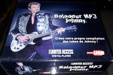 JOHNNY HALLYDAY COFFRET BALADEUR MP3 LIMITED ACCESS ( CONTENU NEUF SCELLE)