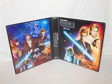 Custom Made Star Wars Attack of the Clones Widevision Binder Graphics Only