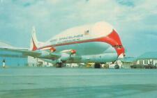 SUPER GUPPY Boeing Stratocruiser Buckley Air National Guard Base 1967 Postcard