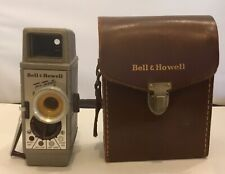 Bell & Howell Two-twenty - 8mm - Vintage  Camera with leather case