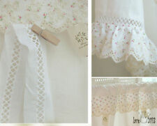 """14Yds Broderie Anglaise eyelet lace trim 0.7""""(2cm) white YH875 lacekingUSA"""