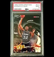 New listing 1996 Hoops Hipnotized Shaquille O'neal #H13 PSA 9🔥