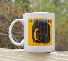 Starbucks Coffee Company Guatemala Mug Cup Early Bean Roast Label Logo Yellow