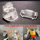 Transparent Neck Chest Cover Tooth Arm Fill Parts Upgrade Kit For SS86 Grimlock