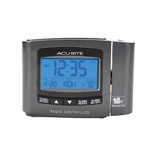 AcuRite 13239 Atomic Projection Clock with Indoor Temperature Free Shipping