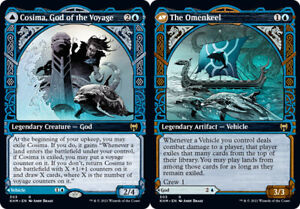 Cosima, God of the Voyage // The Omenkeel - Foil - Showcase x1 Magic the Gatheri