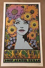 SXSW 2017 Chuck Sperry Event Poster  Music Austin Texas Art Print Poster Lady