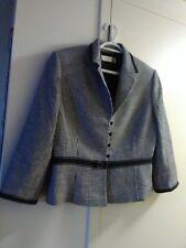 Suit/Jacket, black white, classic, Tahari, 12