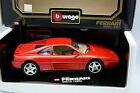 Burago 1/18 - Ferrari 348 TB Rouge 1989