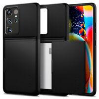 Galaxy S21, S21 Plus, S21 Ultra Case   Spigen® [Slim Armor CS] Card Storage Case
