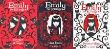 Rob Reger EMILY THE STRANGE Paperback Gothic Novel Series Collection Books 1-3