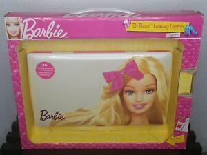 New Barbie B-Book Learning Laptop Toy Games Oregon Scientific Rare NIB 2011/BN68
