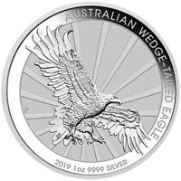 2019 Wedge Tailed Eagle 1oz Silver Coin with Capsule