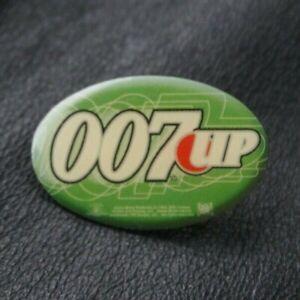 JAMES BOND 007 Pin Badge 007 UP 7-UP