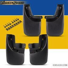 For 05-15 TOYOTA TACOMA Mud Flaps Splash Guards 4PCS Set Front & Rear Molded