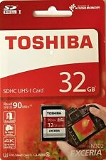 Toshiba Exceria N302 SDHC Uhs-i 32gb SD Memory Card