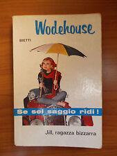 JILL RAGAZZA BIZZARRA - P.G. Wodehouse