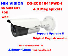 Hikvision DS-2CD1641FWD-I 4MP IP IR POE Network 2.8~12mm Manual 120dB WDR Camera
