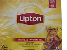 Lipton Original black tea bags (104 Count)