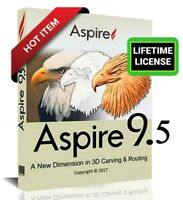 Vectric Aspire 9.514 + Clip Art Bonus | Full Version |Lifetime License (FAST)