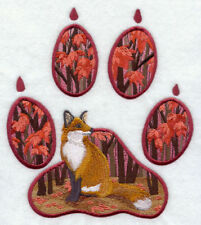 Embroidered Sweatshirt - Fox Track G6939