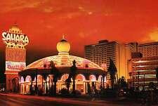 Sahara Hotel and Casino, Las Vegas, Nevada, Strip,Closed May 16, 2011 - Postcard