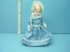 """Miniature Adult Woman """"Edda"""" #24701 Dollhouse Doll , Erna Meyer Handcrafted"""