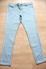 joules washed blue super skinny fit Monroe denim  jeans size 12  NEW