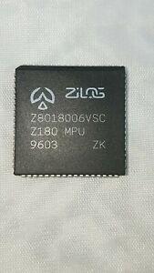 5 (LOT) Z8018006VSC ZILOG,  Z180 MPU  IC MPU, IN USA ! FREE SHIPPING !