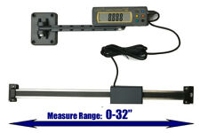 """iGaging Absolute DRO Digital Readout 32""""/800mm Read Out Stainless Steel Beam"""