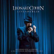 LEONARD COHEN - LIVE IN DUBLIN - 3CD NEW SEALED 2014