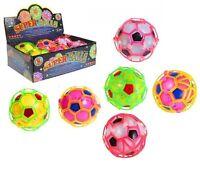 Kids DANCING CRAZY BALL Happy Bouncy Light Up Fidget Sensory New LIGHTS & SOUND