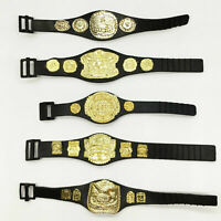 5pcs wwe championship Toy Belt for wwe 7 inch Action Figure Heavyweight gold