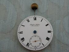 """Original """"Robert Milne, Manchester"""" Gent's pocket watch movement for parts only"""