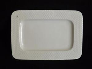 """Nora Fleming Swiss Dot Rectangular Platter 10 1/4"""" x 14 3/4"""""""