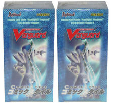 2x Cardfight!! Vanguard Comics Style Factory Sealed English Booster Box EB01 x2