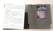 Star Soldier (Nintendo Entertainment System, 1988) NES w/ Rental Instructions