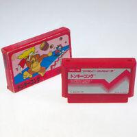 DONKEY KONG 1 Famicom Nintendo FC Japan Import Arcade Boxed look somewhat used 2