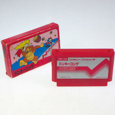 DONKEY KONG 1 Famicom Nintendo FC Japan Import Arcade Boxed look somewhat used 2