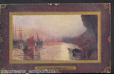 Artist Postcard - Shipping In The Medway - J.M.W.Turner, R.A - RT1138