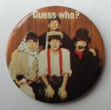 The Beatles Vintage Tin Badge John Lennon Paul McCartney
