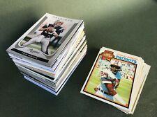 Lot 160 cartes NFL New England Patriots années 70 à 2000 Tom Brady