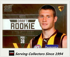 2011 Select AFL Infinity Draft Rookie Card DR13 Mitch Hallahan (Hawthorn)