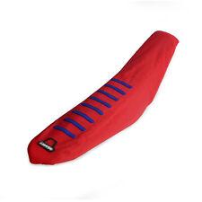 Rubber Gripper Seat Cover Red For Honda CR125R CR250R CRF250R CRF250X CRF450R/X