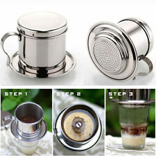 Metal Vietnam Drip Cup Strainer Cafe Latte Filter Maker Espresso Coffee Dripper