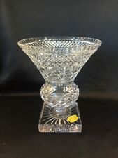 Grand vase Médicis en cristal taillé.Val Saint Lambert
